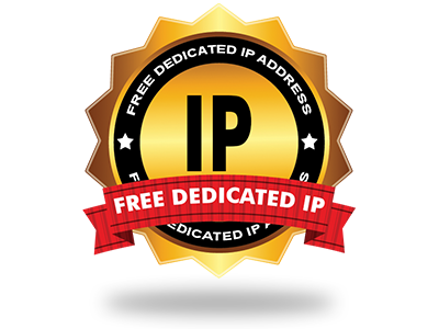 A 100% free Dedicated IP address